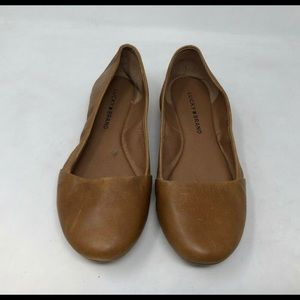 Lucky Brand Emeralda Leather Flats